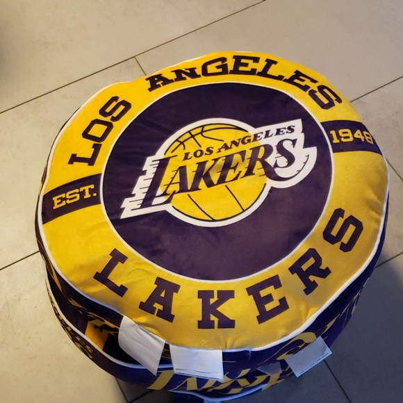 NBA Lakers cloud pillows